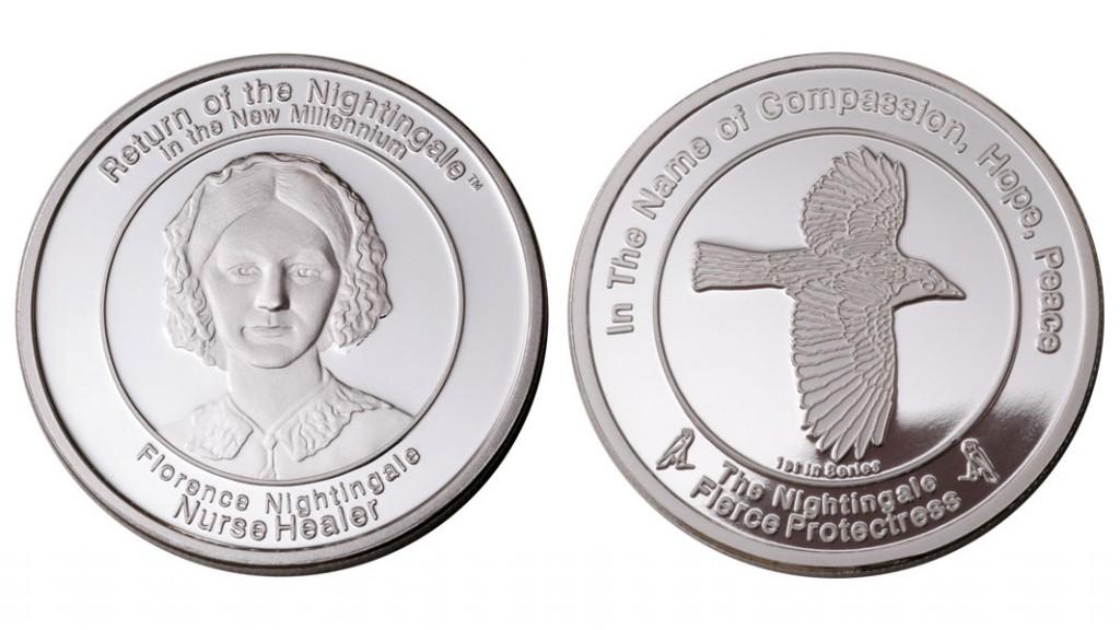 Coin 1: Fierce Protectress Fine Silver
