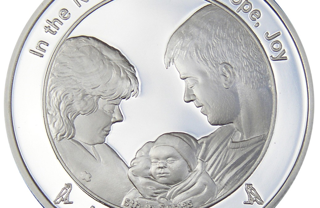 Coin 5: Miracle of Life in Fine Silver
