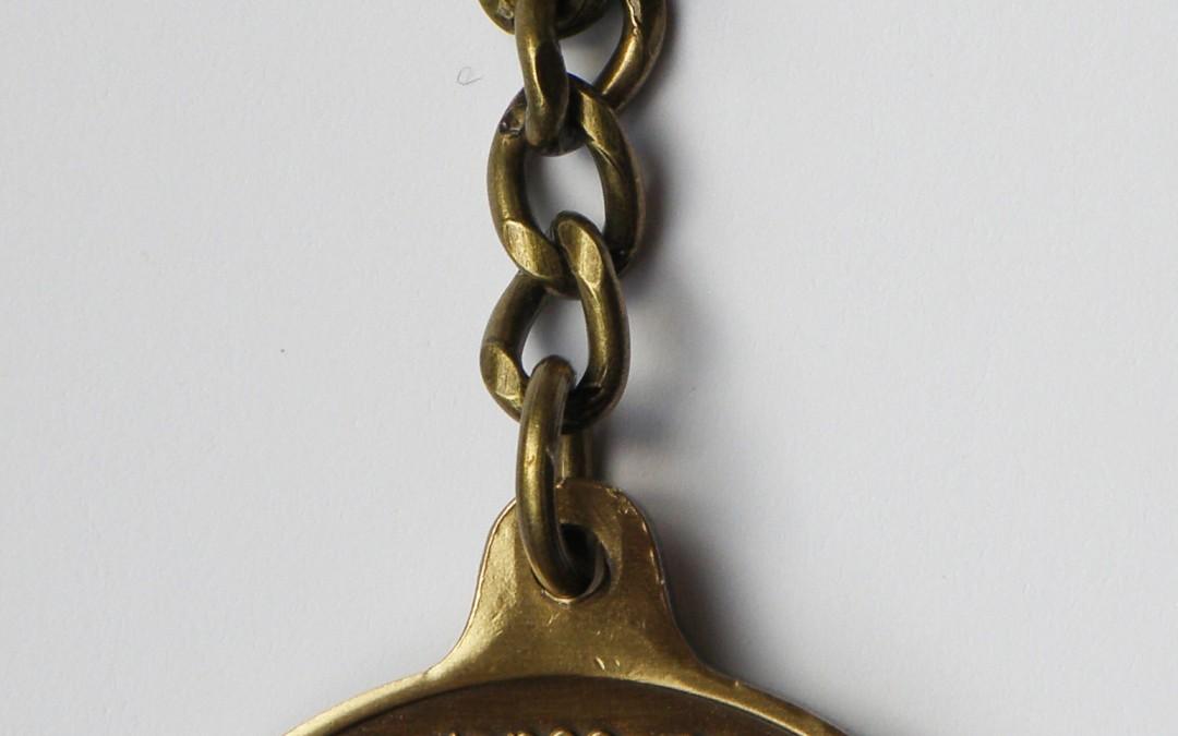 Coin 3: Nurturer Antique Bronze Key Chain