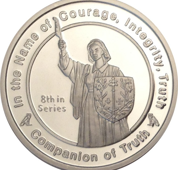 Coin 8: Companion of Truth in Fine Silver