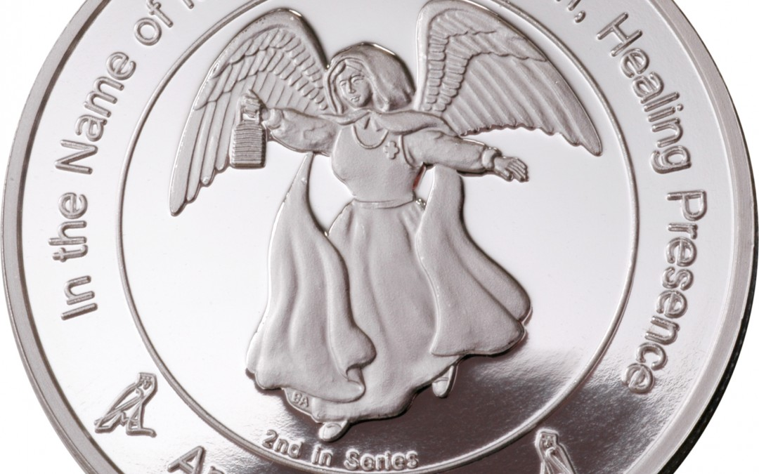 Coin 2: Angel of Mercy in Fine Silver