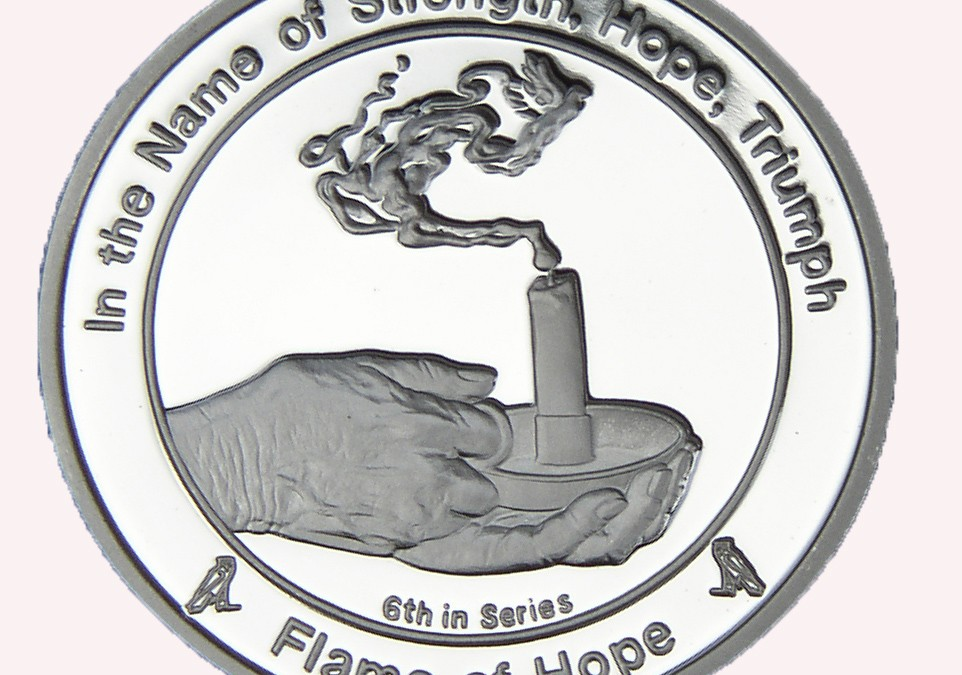Coin 6: Flame of Hope in Fine Silver