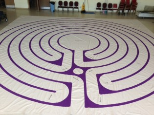 Portable Canvas Labyrinth