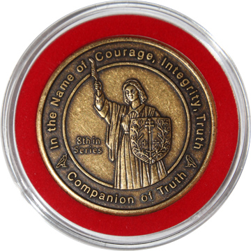 Companion of Truth coin in Bezel